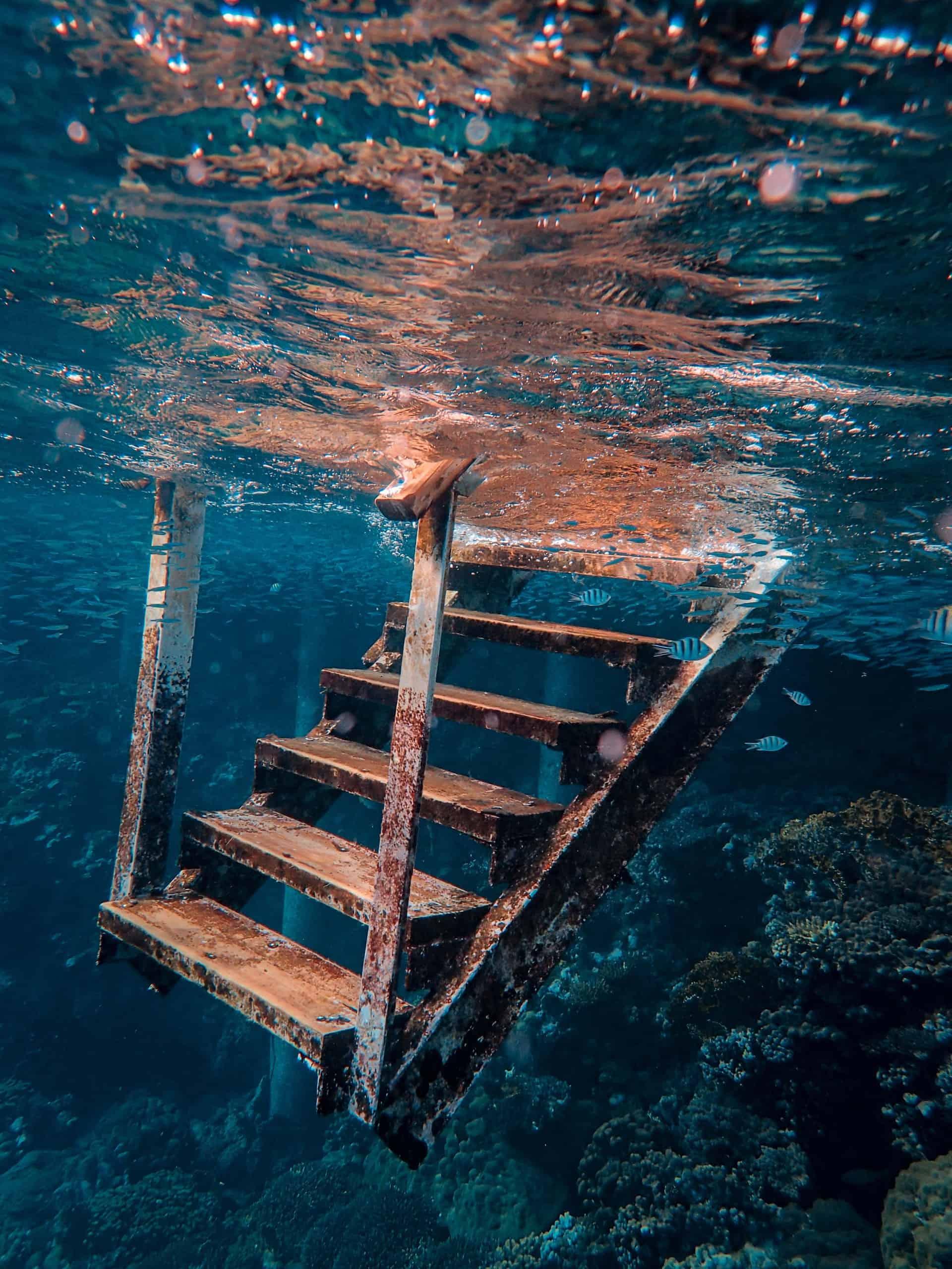 Trap onderwater